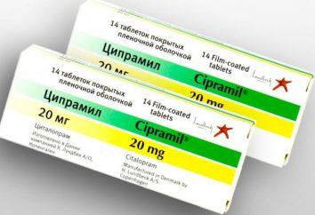 """""""Cipramil"""": Gebrauchsanweisungen, Preis, Analogen, Nebenwirkungen und Bewertungen der Vorbereitung"""