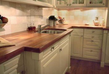 Standardhöhe Platte aus dem Boden in der Küche