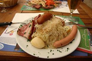 Sammelsurium von Sauerkraut