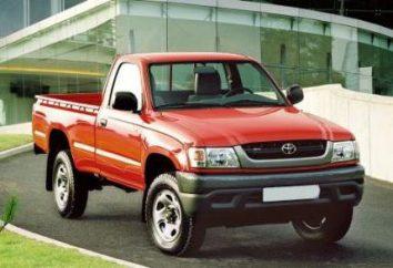 """""""Toyota"""" pick-up z japońskiego producenta, niezawodnego wózka lekkiego"""
