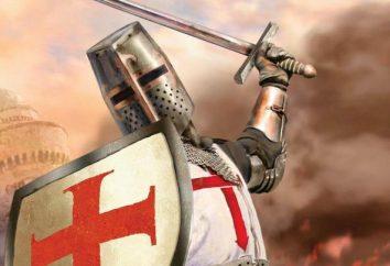 Croisés – un chevalier qui se bat avec les infidèles