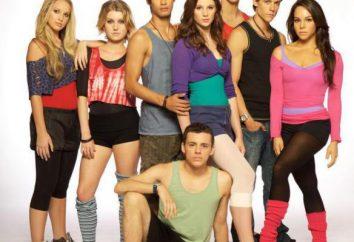 Les personnages et les acteurs: « Dance Academy »