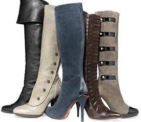 Wybór modne buty