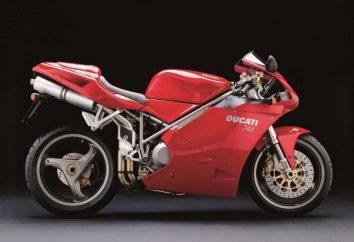 Moto « Ducati »: gamme et la description