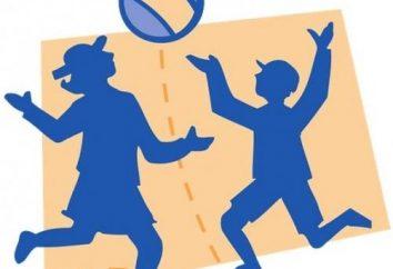 jogos ao ar livre no campo: várias opções