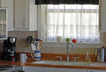 Wir wählen die perfekten Vorhänge für die Küche