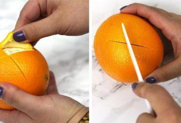 Jak obrać pomarańczę? Niektóre tajemnice i subtelności zwykłej procedury