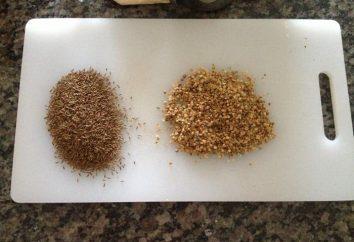 Chaff – welche Art von Grütze? Buchweizen und Reisspreu