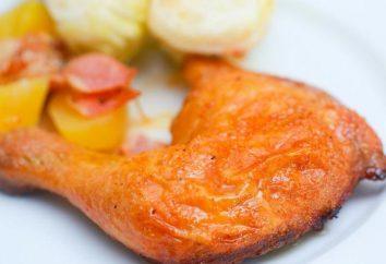 Cosce di pollo al cartoccio in forno: un passo per passo la ricetta, in particolare la cucina e recensioni