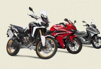 Honda: gamme. Moto « Honda » pour tous les goûts