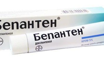 """Leki stosowane w leczeniu i zapobieganiu uszkodzenia skóry. Instrukcje """"Bepanten"""""""