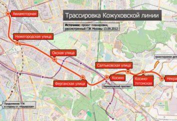 Conduire la ligne de métro Kozhukhovsky. La construction de la nouvelle ligne Kozhukhovsky