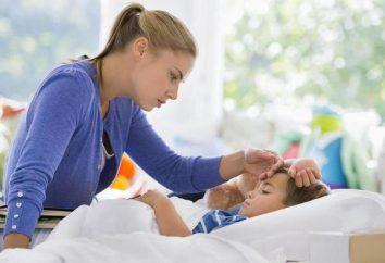 Comment ça maintient la température de la grippe chez les enfants: caractéristiques, règles et conseils d'experts