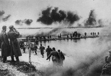 Cruzando del Dnieper por las tropas soviéticas en 1943