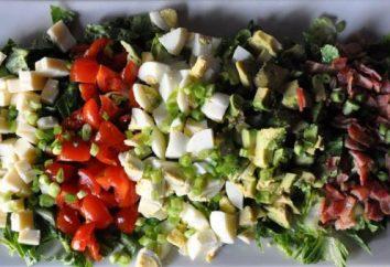 """Aprender a cocinar una deliciosa ensalada """"favorito"""" (receta en tres realizaciones)"""