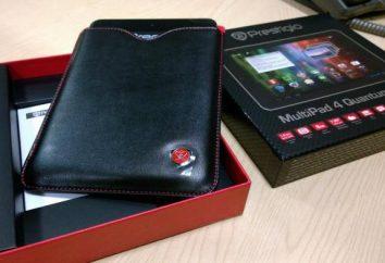 Prestigio Multipad 4: Descrição Tablet e comentários