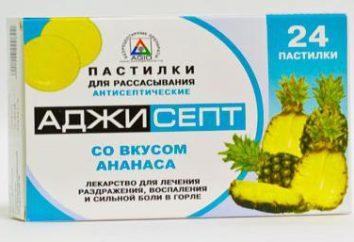 """Medicina """"Adzhisept"""": instrucciones, indicaciones y efectos secundarios"""