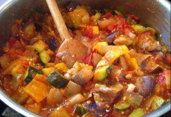Comment faire cuire les aubergines mijoté avec des légumes