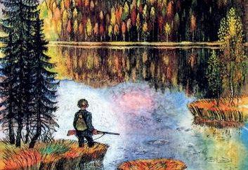 """Podsumowanie opinii """"Vasyutkin jezioro."""" Astafev V. P. napisał fascynującą pracę"""