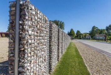 Ogrodzenia z gabionów z ich rąk – krok po kroku