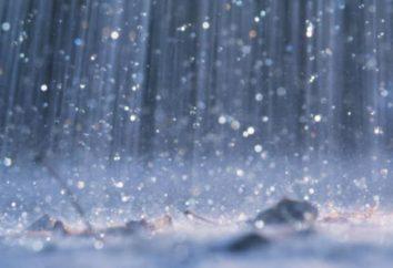 Le precipitazioni massima in alcune parti del mondo?