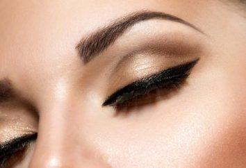 Henna para las cejas. pintura de la alheña ceja: opiniones