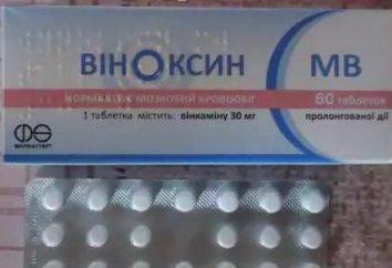Le médicament « Vinoksin »: mode d'emploi, indications