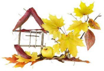 La pittura da foglie d'autunno è un ottimo modo per decorare la tua casa