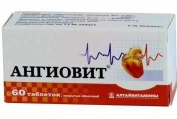 préparation de la vitamine « Angiovit ». Critiques, guide
