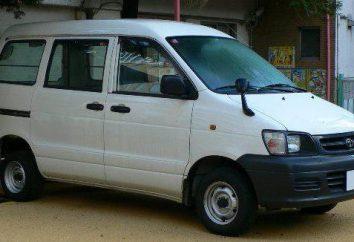 Toyota Town Ace – huit mini-fourgonnette japonaise large application