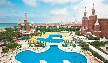"Hôtel cinq étoiles ""Kremlin Palace"" (Turquie / Antalya)"