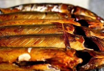 ahumado en caliente de los peces: una receta para un delicioso y fragantes platos
