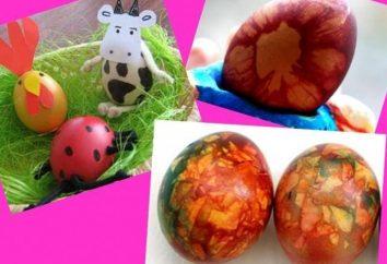 Como pintar ovos para a Páscoa, e que pode ser produzido por este artesanato de férias