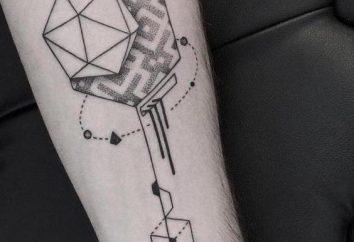 geometria Tatuaż: wartość różnych kształtach