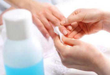 Lo striscio intorno al chiodo con il manicure: consigli utili, consigli pratici e recensioni