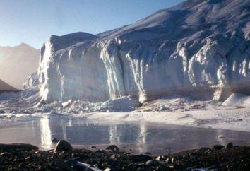 El lago Vostok en la Antártida. El lago subglacial más grande en la Antártida