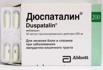"""""""Duspatalin"""": ciò che aiuta, recensioni, analoghi"""