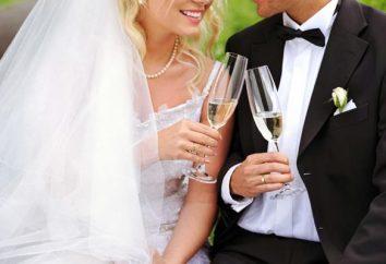 Champagner für die Hochzeit: elegantes Design der Flaschen für den Urlaub!