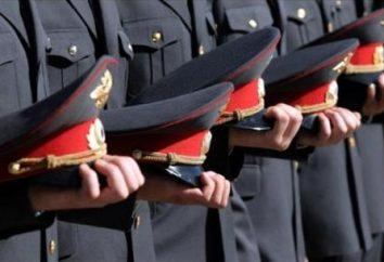 La polizia in servizio. Unità di servizio del Ministero degli Affari Interni