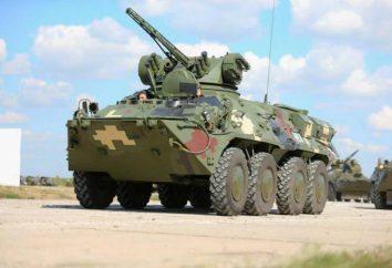 """BTR-3 (porte blindé """"Guardian""""): aperçu, description, caractéristiques et caractéristiques"""