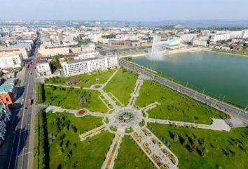 Millennium Park w Kazaniu zbudowany jest na znaczącą datę