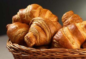 Croissants, pâte feuilletée