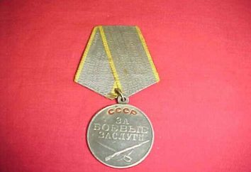 héros d'attribution. Médailles du mérite militaire