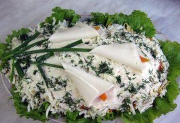 """Salade """"Callas"""". La recette et des instructions étape par étape pour la préparation de"""