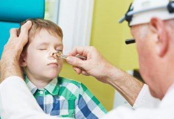 Livrar-se do resfriado comum. Como as crianças lavar nariz salina?