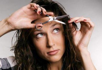 """Kann ich mir die Haare schneiden? Ein Zeichen """", um deine Haare zu schneiden"""""""
