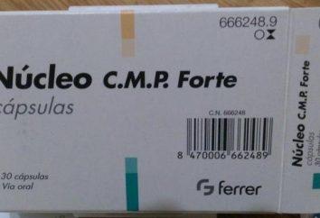 """Description du produit """"Nucleo CMF Forte"""". Indications d'utilisation et de rétroaction"""