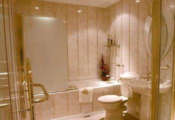 Como decorar uma casa de banho com painéis de plástico: recomendações e dicas