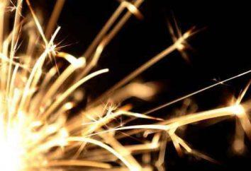 Was passiert, wenn man die Wunderkerzen in 1000 bei gleichzeitig Licht?