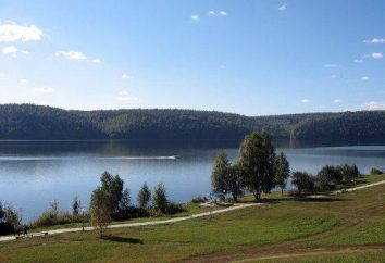 Pavlovsk réservoir en Bachkirie